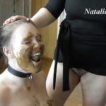 Eat my tasty shit, my happy toilet with Mistress Natalia Kapretti Lesbian Scat xxx [FullHD / 2020]