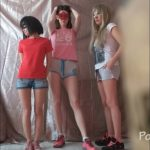 3 unimaginably sweet girls! And me Femdom Scat [FullHD / 2020]