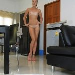 Dirty Riding In Pink Strappy Sandals with MissAnja Dildo Masturbation [FullHD]