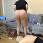 Today it was very difficult for him with MilanaSmelly Scat Slave Video.