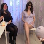 Chocolate lunch from Karina and Kamilla with MilanaSmelly Shit Salve [FullHD]