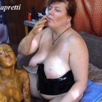 She covered in shit, she my toilet with Mistress Natalia Kapretti lesbians [FullHD]