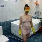 Fecal bath Part 1 with WCwife Enema